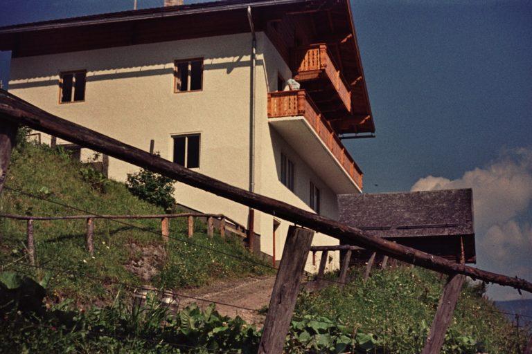 Das Astlehen-Bauernhaus, ca. 1964, © Fam. Raab aus Köln