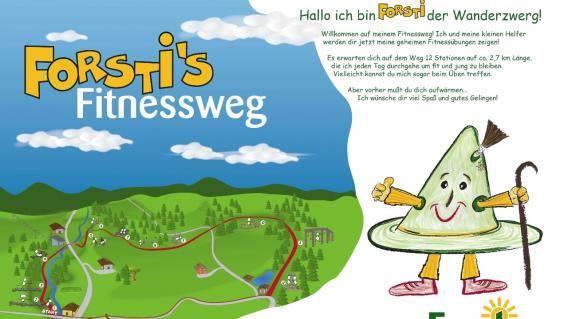 Forstis Fitnessweg © Tourismusverband Forstau