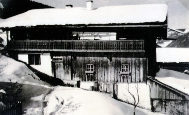 Das alte Bauernhaus, vor 1960