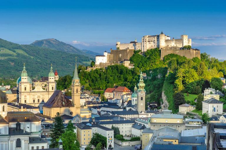 Festung Hohensalzburg und Altstadt ©Tourismus Salzburg, Foto: Breitegger Günter