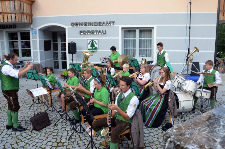 Sommerkonzert mit dem Jugendblasorchester © TMK Forstau