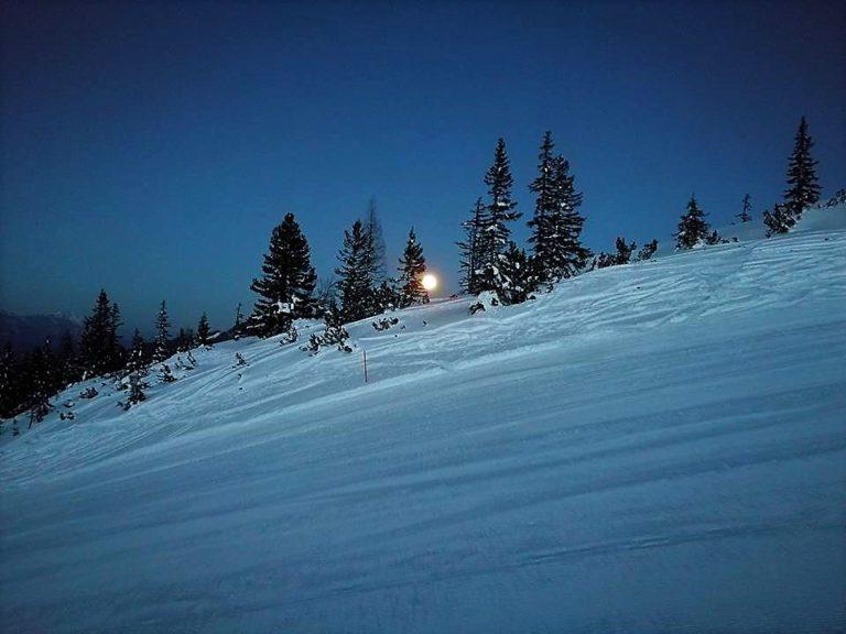 Skitour Vollmond Forstau Fageralm © Tourismusverband Forstau