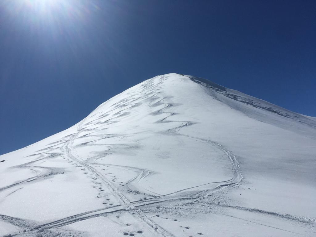 Skispuren auf der Lungauer Kalkspitze