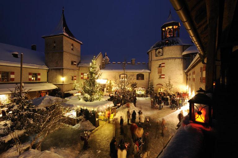 Advent auf der Burg Hohenwerfen © Burg Hohenwerfen