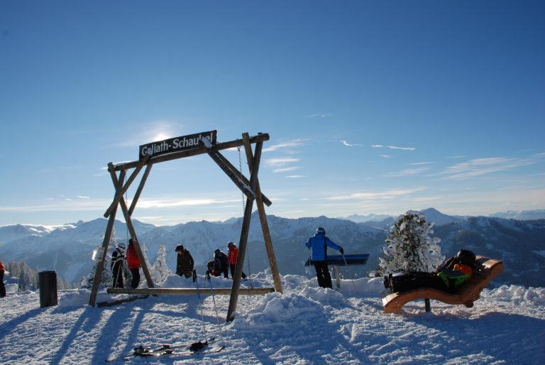 Goliath-Genuss-Oase auf der Fageralm © Reiteralm Bergbahnen