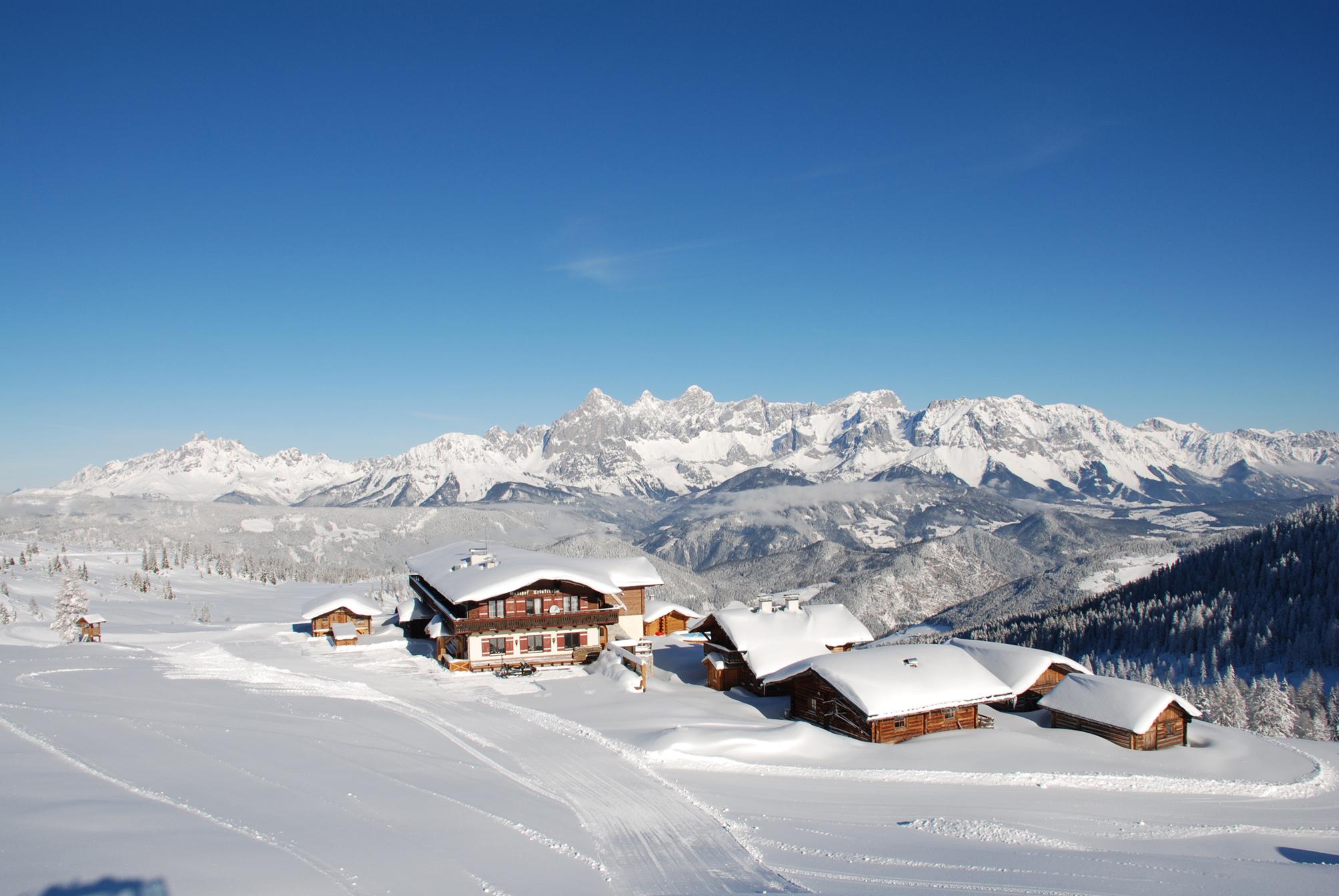 sonniges Hochplateau der Fageralm © Reiteralm Bergbahnen